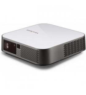 Viewsonic M2e proiectoare de date Proiector desktop 400 ANSI lumens LED 1080p (1920x1080) 3D Gri, Alb