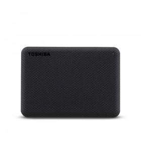 Toshiba Canvio Advance hard-disk-uri externe 2000 Giga Bites Negru