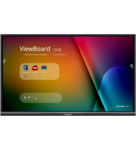 """Viewsonic IFP6550-3 table albe interactive 165,1 cm (65"""") 3840 x 2160 Pixel Ecran tactil Negru HDMI"""