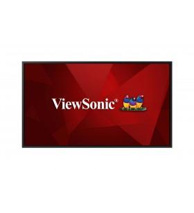 """Viewsonic CDE4320 Afișaj Semne Panou informare digital de perete 109,2 cm (43"""") IPS 4K Ultra HD Negru Procesor încorporat"""