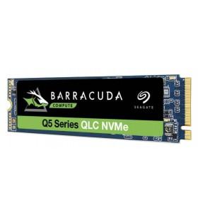 Seagate BarraCuda Q5 SSD 500GB M.2 500 Giga Bites PCI Express 3.0 QLC 3D NAND NVMe