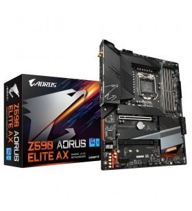 Gigabyte Z590 AORUS ELITE AX plăci de bază Intel Z590 Express LGA 1200 ATX