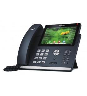 Yealink SIP-T48S telefoane IP Negru 16 linii LCD