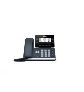 Yealink SIP-T53W telefoane IP Negru 8 linii LCD Wi-Fi