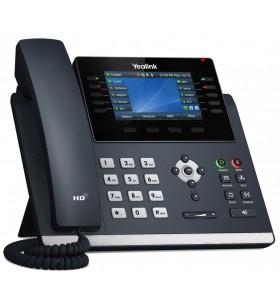 Yealink SIP-T46U telefoane IP Gri LCD Wi-Fi