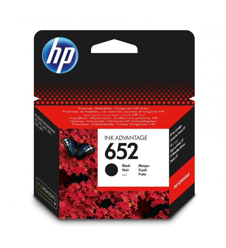 HP 652 cartușe cu cerneală Original Negru