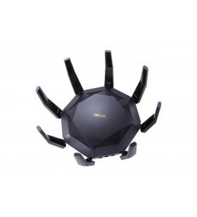 ASUS RT-AX89X AX6000 AiMesh router wireless Ethernet Bandă dublă (2.4 GHz  5 GHz) 3G 4G Negru