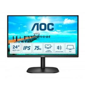 "AOC B2 24B2XD LED display 60,5 cm (23.8"") 1920 x 1080 Pixel Full HD Negru"