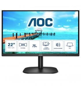 """AOC B2 22B2H EU LED display 54,6 cm (21.5"""") 1920 x 1080 Pixel Full HD Negru"""