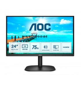 """AOC B2 24B2XHM2 monitoare LCD 60,5 cm (23.8"""") 1920 x 1080 Pixel Full HD Negru"""