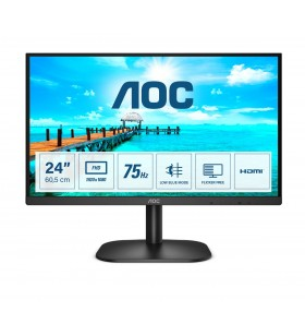 """AOC B2 24B2XDM monitoare LCD 60,5 cm (23.8"""") 1920 x 1080 Pixel Full HD Negru"""