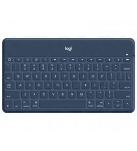 Logitech Keys-To-Go Albastru Bluetooth Germană
