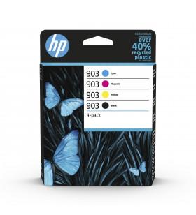 HP 903 cartușe cu cerneală 4 buc. Original Productivitate Standard Negru, Cyan, Magenta, Galben