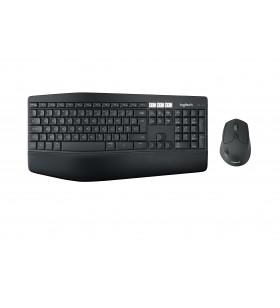 Logitech MK850 tastaturi RF Wireless + Bluetooth AZERTY Flamandă Negru