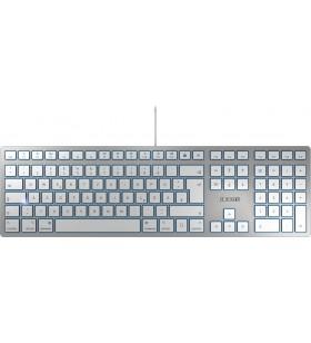 CHERRY KC 6000 SLIM FOR MAC tastaturi USB QWERTY Engleză SUA Argint
