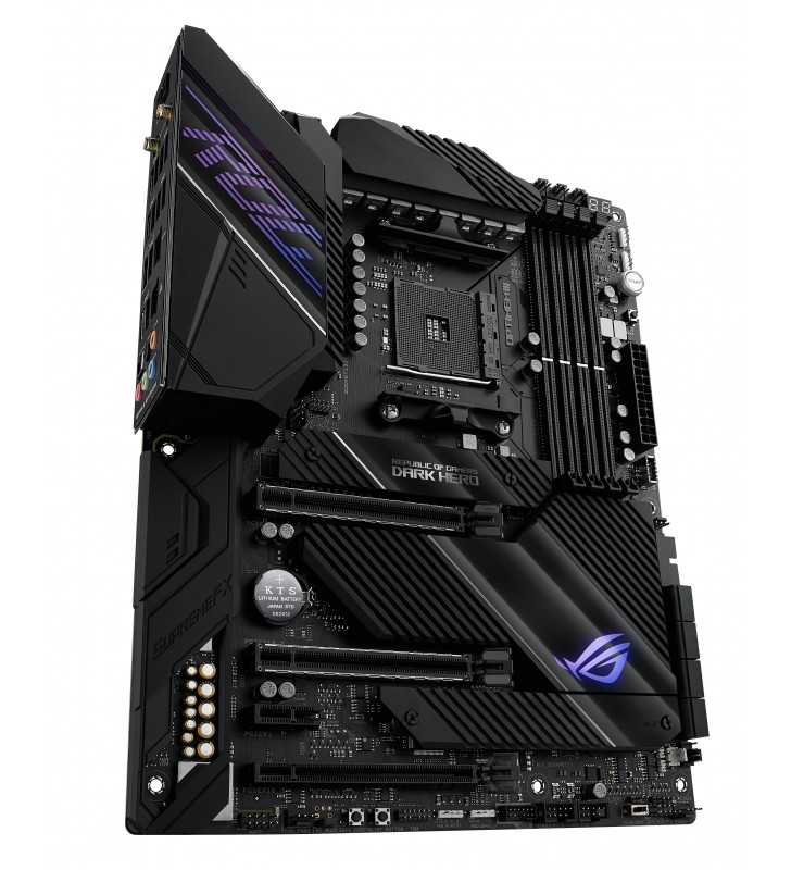 ASUS ROG Crosshair VIII Dark Hero AMD X570 Mufă AM4 ATX