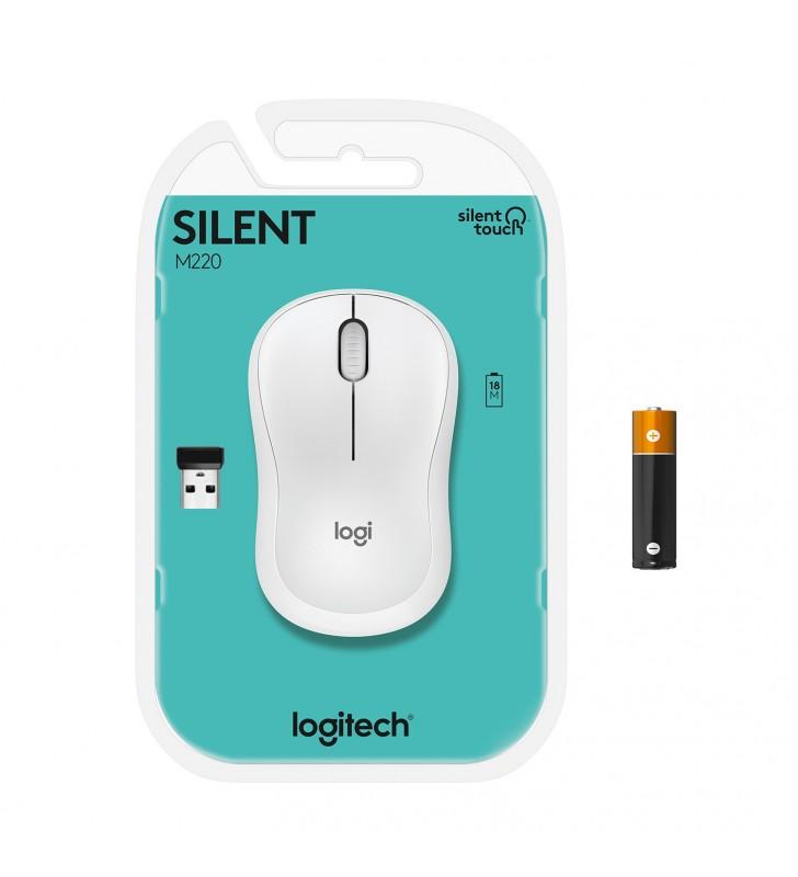 Logitech M220 Silent mouse-uri Ambidextru RF fără fir Optice 1000 DPI