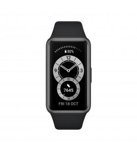 """Huawei Band 6 AMOLED Dispozitiv monitorizare activitate tip brățară 3,73 cm (1.47"""") Negru"""