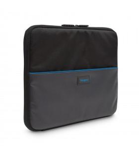 """Targus TED013GL genți pentru notebook-uri 33,8 cm (13.3"""") Carcasă tip săculeț Negru, Gri"""