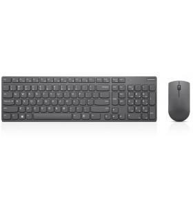 Lenovo 4X30T25800 tastaturi RF fără fir QWERTY Engleză Regatul Unit Gri