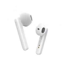 Trust Primo Căști În ureche Bluetooth Alb