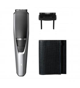 Philips BEARDTRIMMER Series 3000 Aparat de tuns barba cu setări de precizie de 0,5 mm
