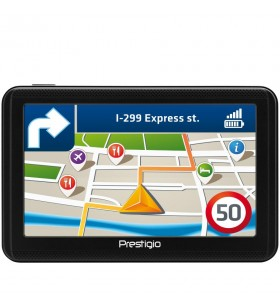 "Prestigio GeoVision 5060, 5"" (480*272) TN display, WinCE 6.0, 800MHz Mstar MSB2531 Cortex A7, 128MB DDR, 4GB Flash, 600mAh batt"