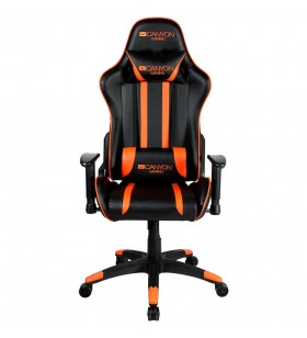 Gaming chair, PU leather, Cold molded foam, Metal Frame,  Butterfly mechanism, 90-150 dgree, 2D armrest, Class 4 gas lift, Nylon