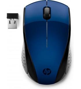 HP 220 mouse-uri Ambidextru RF fără fir Blue LED 1600 DPI