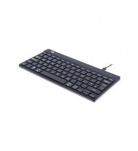 R-Go Tools RGOCOUKWDBL tastaturi USB QWERTY UK International Negru