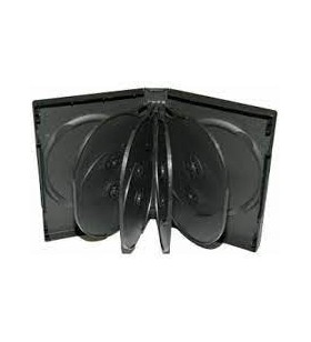 Carcasa 10 DVD standard negru