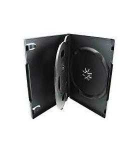 Carcasa 3 DVD standard negru