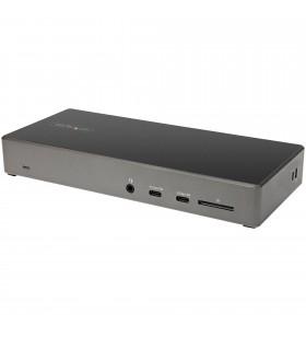 StarTech.com DK31C2DHSPDUE stații de andocare și replicatoare de porturi pentru calculatoare portabile Prin cablu USB 3.2 Gen 2