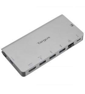 Targus DOCK414EU stații de andocare și replicatoare de porturi pentru calculatoare portabile Prin cablu USB 3.2 Gen 1 (3.1 Gen