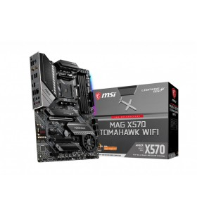 MSI MAG X570 TOMAHAWK WIFI plăci de bază AMD X570 Mufă AM4 ATX