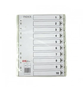 Index plastic 1-10 EV4H03