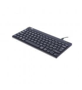 R-Go Tools RGOCONDWDBL tastaturi USB QWERTY Olandeză Negru