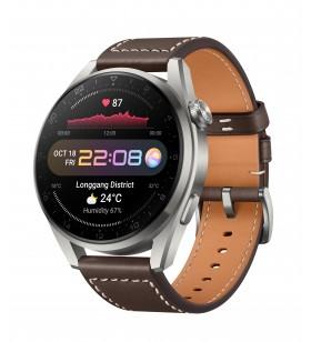 "Huawei WATCH 3 Pro Classic 3,63 cm (1.43"") 48 milimetri AMOLED 4G Titan GPS"