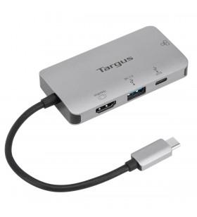 Targus DOCK418EUZ stații de andocare și replicatoare de porturi pentru calculatoare portabile Prin cablu USB 3.2 Gen 1 (3.1 Gen