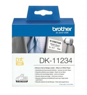 Brother DK-11234 etichete pentru imprimante Alb Eticheta imprimantă auto-adezivă