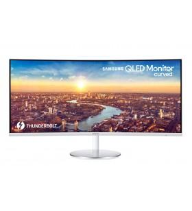 "Samsung C34J791WTR 86,4 cm (34"") 3440 x 1440 Pixel UltraWide Quad HD QLED Alb"