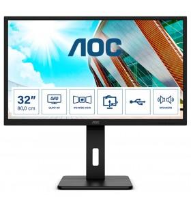 "AOC P2 Q32P2 monitoare LCD 80 cm (31.5"") 2560 x 1440 Pixel 2K Ultra HD LED Negru"