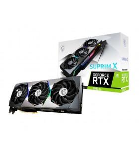 MSI RTX 3080 Ti SUPRIM X 12G NVIDIA GeForce RTX 3080 Ti 12 Giga Bites GDDR6X