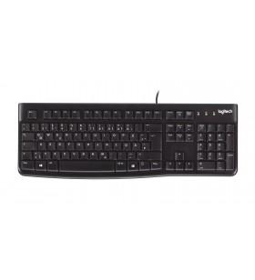 Logitech K120 tastaturi USB Englez Negru