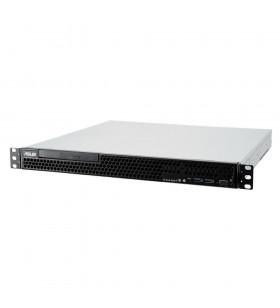 ASUS RS100-E10-PI2 Intel C242 LGA 1150 (Mufă H4) Cabinet metalic (1U) Negru, Metalic
