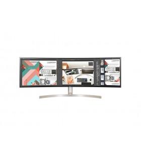 """LG 49WL95C-WE LED display 124,5 cm (49"""") 5120 x 1440 Pixel UltraWide Quad HD Negru, Alb"""
