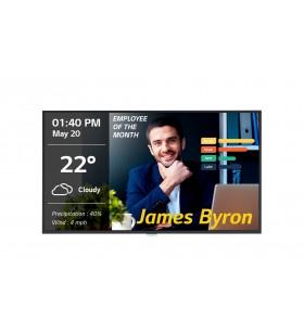 "LG 43UM3DG-B Afișaj Semne Panou informare digital de perete 109,2 cm (43"") IPS 4K Ultra HD Negru Procesor încorporat Web OS"