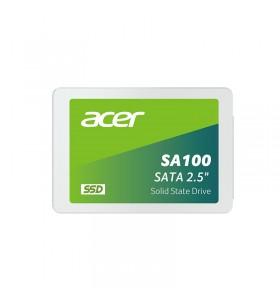"Acer SA100 2.5"" 480 Giga Bites ATA III Serial 3D NAND"