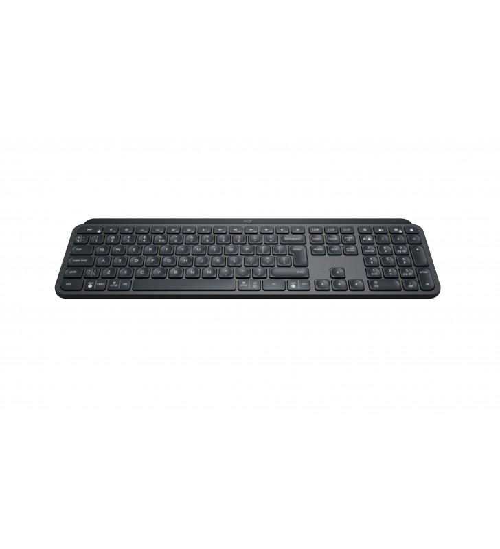 Logitech MX Keys Combo for Business tastaturi RF Wireless + Bluetooth Germană Grafit