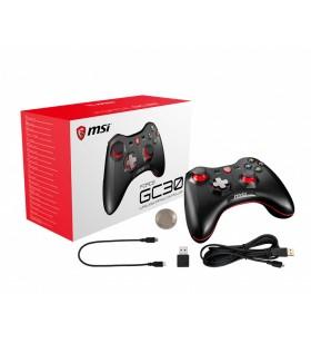MSI Force GC30 Negru USB 2.0 Gamepad Analog  Digital Android, PC-ul